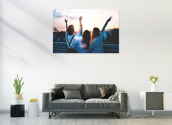 turn photo into canvas